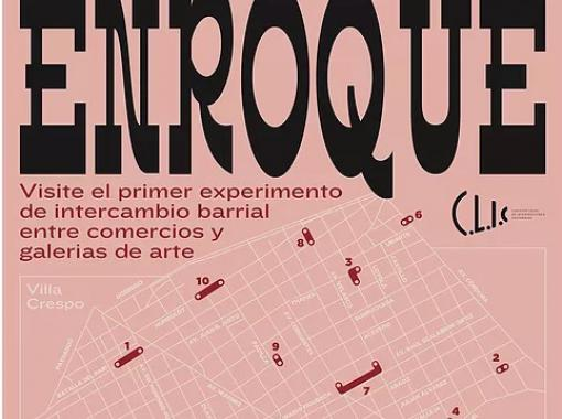 Enroque - Experiencias visuales de intercambio en Villa Crespo